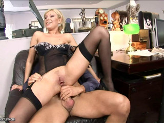 Eagerness for anal invasion with Donna Bell