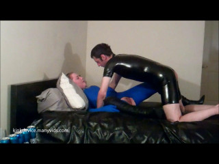 Kinkdevice amelia gives it up zentai sex