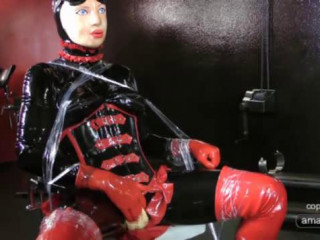 In a insane Session as the Rubber doll gets pummeled in his caboose