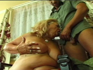 Slut Euro BBW granny fucked by Tony on casting