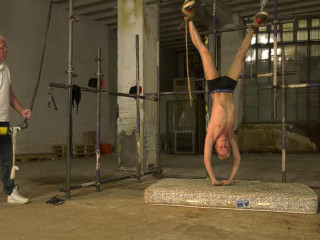 Hung Upside Down - Used As A Punching Bag! - Full HD 1080p