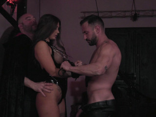 Submitting to Two Cocks - Susy Gala - Full HD 1080p