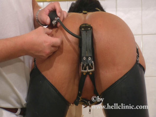 Butt injection - Making him horny