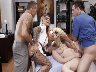 Nurse Orgy part 1