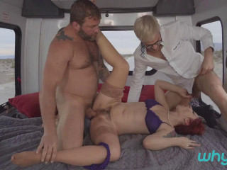 Colby Jansen, Violet Monroe, Sherman Maus Better Laid Than Late