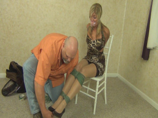Bound And Gagged For Pleasure  Porn part 17