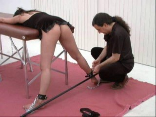 SM Rendezvous Clysters And Spanking in Restrain bondage