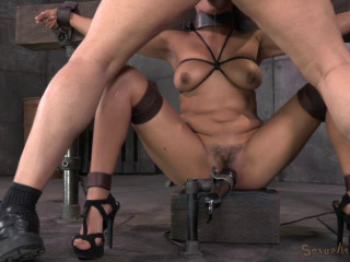 Drilled Down By Two Cocks (21 Apr 2014) Sexually Violated