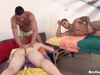Ass fucking Hook-up Orgy! - Ivo Kerk, Radim Hajek, Roman Klaska