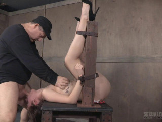 Gorgeous Coed, gets ferociously dicked down, stiff hatch ravaging Part 3