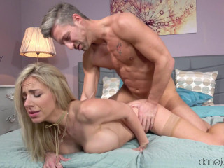 Nathaly Cherie - Creampie for big tits Czech blonde