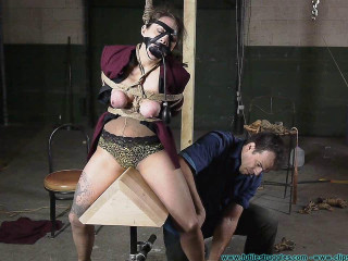 The Office Bet Lilly Loses  - BDSM, Humiliation, Torment HD-720p