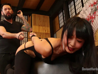Submissive Asian pornographic star marica hase predominated
