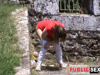The Galician Chicks Urinating 11