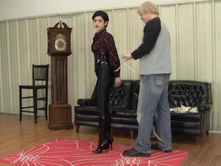 Johannie - Disco Jeans, Tight Ropes, Glossy Footwear