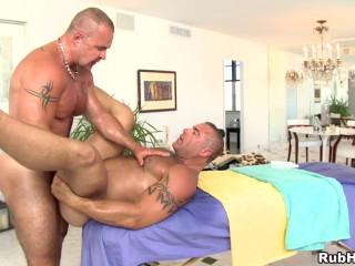 RubHim - Trace Michaels massages and flipfucks Adam Rogue