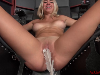 Tickle Abuse - Scarlet Ticklish Pussy