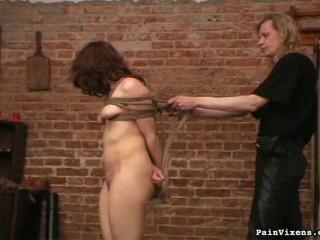 Painvixens - 31 Oct 2008 - Brunette Captive Torture
