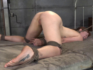 All natural redheaded girl next door Claire Robbins takes on 10 inches of Bbc