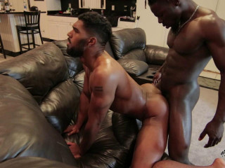 Interracial Anal With Many Cumshots