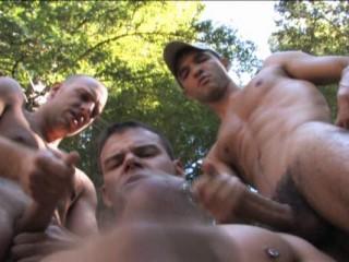 Hot outdoor fuck
