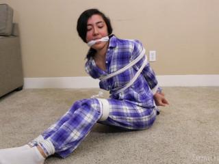 Pajamas bondage
