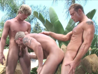 Private Outdoor Gangbang