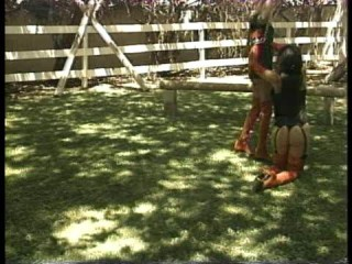 Horse Damsel 4 - In Instructing