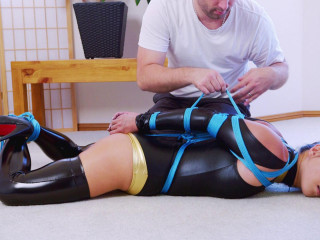 RestrictedSenses - Mina - Costumed Hogtie