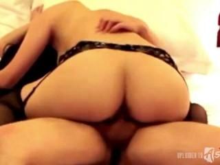 Sexy asian girls getting banged on camera