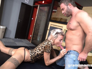 Fit Granny Fucked By Big Stud (2020)