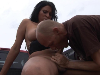Marjorie Luvana Pounded Hard Outdoors!