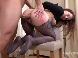 Mr. Anderson's Ass-fuck Casting, Alexa Crow Scrotum Deep Anal, Gapes