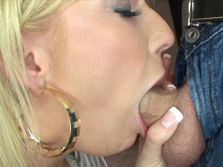 Alexis, 21-Year-Old Blonde Spinner Loves to Deep Throat Cock and Swallow