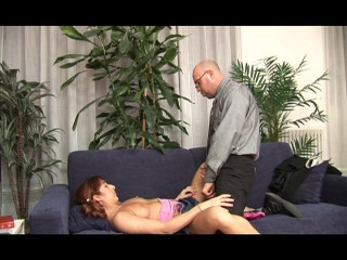 Office nymph gets laid