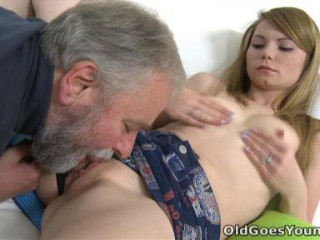 After a long doggie fashion screwing Sveta gets her old lover's spunk all over her body.