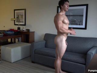 Pumping Muscle - Phillip V (Trey T) Photo Shoot