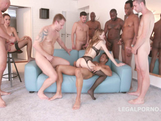 Double Fuck Gangbang Factor With Perfect Babes