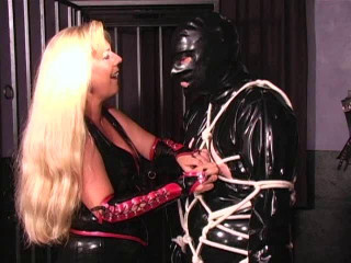 Latex Rubber - Tangent Cowboy - Domination HD
