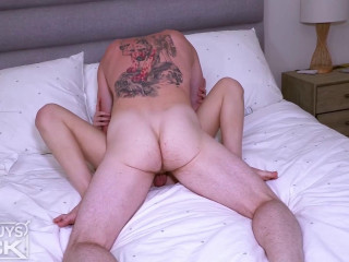 The Hotguysfuck Practice - Joey Beckham Packs Ally King's Gullet With His Huge Explosion