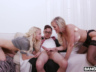 Brandi Love, Kenzie Reeves - Halloween Exclusive With A Threesome FullHD 1080p