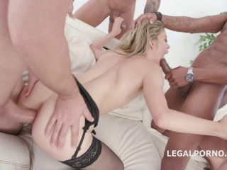 Deep Anal Gangbang With Double Fuck For Sexy Ciara Riviera