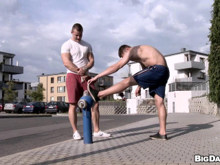 Assfuck Rubdown After A Excellent Workout! (Vlado Tomek, Ondra Matej)
