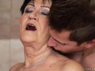 Sexy Sweaty Grandma