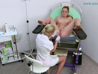 Alex Ginger (19 years damsel gynecology exam) Legitimate May 2016