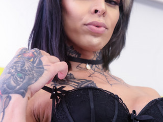Gaby Ink Cums Hard For You!