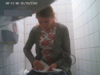 Hidden camera in the student toilet Part 5 (2018)