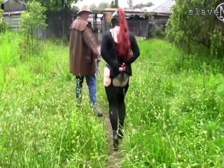 slave m - pierced ponygirl