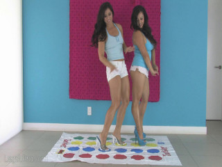 Annie Mae and Tomiko Playing Twister