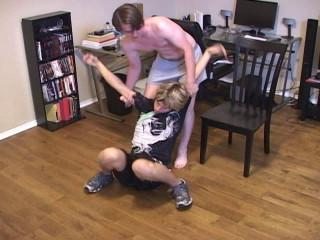 Bad Dudes Restrain bondage - Violating And Injecting
